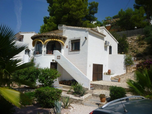 Villa Moraira Costa Blanca North